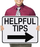 Hilfreiche Tipps lizenzfreie stockfotografie