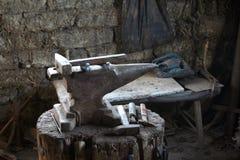 Hilfsmittel-Atelier Stockfotos