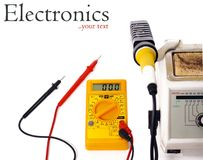 Hilfsmittel der Elektronik DIY stockbilder