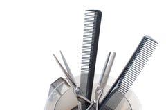 Hilfsmittel des Friseurs Lizenzfreies Stockbild
