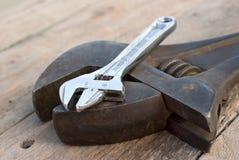 Hilfsmittel des justierbaren Schlüssels Lizenzfreies Stockbild