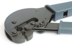 Hilfsmittel für die Montierung der CATV Verbinder stockbilder