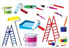 Hilfsmittel für Reparatur Stockfoto