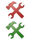 Hilfsmittel-Ikonen vektor abbildung