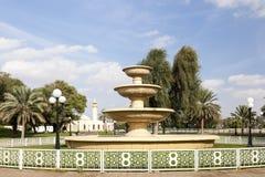 Hili Archaeological Park in Al Ain, UAE stock photos