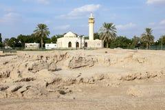 Hili Archeologiczny park w Al Ain, UAE obrazy royalty free