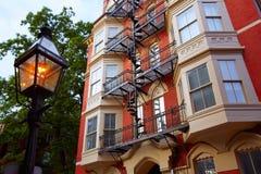 Hill Βοστώνη αναγνωριστικών σημάτων στη Μασαχουσέτη Στοκ φωτογραφία με δικαίωμα ελεύθερης χρήσης