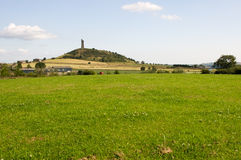 Hill του Castle Στοκ φωτογραφία με δικαίωμα ελεύθερης χρήσης