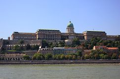 Hill του Castle Στοκ εικόνες με δικαίωμα ελεύθερης χρήσης