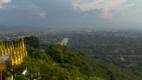 Hill του Mandalay στοκ εικόνες