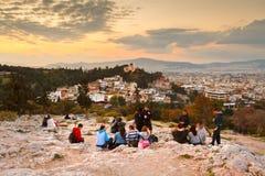 Hill Areopagus Στοκ φωτογραφίες με δικαίωμα ελεύθερης χρήσης