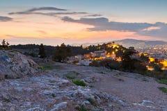Hill Areopagus Στοκ εικόνα με δικαίωμα ελεύθερης χρήσης