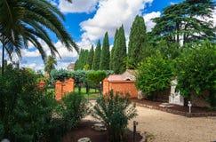 Hill Aventine στη Ρώμη στοκ φωτογραφίες
