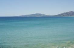 Hill in the beach of tarifa, Cádiz Royalty Free Stock Images