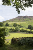 Hill behind Ashness Bridge; Keswick; Lake District Royalty Free Stock Photos