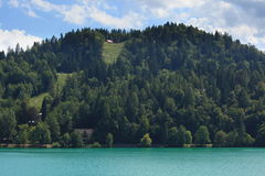 Hill in Bled Stock Images