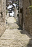 Hill in Bonnieux Village, Provence Stock Image