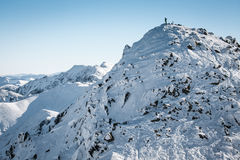 Hill Chopok at Low Tatras, Slovakia Royalty Free Stock Photo