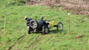 Hill Climb Competition stock video