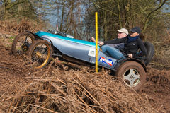 Hill Climb Competition Royalty Free Stock Image