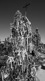 The Hill of Crosses Stock Images