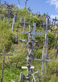 Hill of Crosses Royalty Free Stock Photography