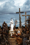 Hill of Crosses Stock Photos