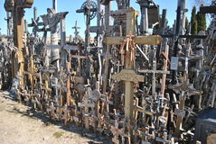 Hill of Crosses, Šiauliai, Lithuania Royalty Free Stock Image
