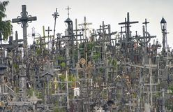 Hill of Crosses II Royalty Free Stock Photography