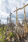 Hill of crosses Royalty Free Stock Photo