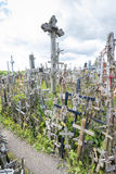 Hill of crosses Royalty Free Stock Images