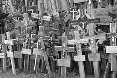 Hill of crosses, Lithuania Stock Photos