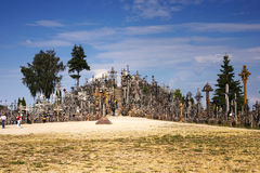 Hill of crosses,Lithuania Royalty Free Stock Photography