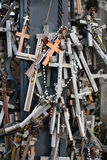 The Hill of Crosses in Lithuania Royalty Free Stock Images