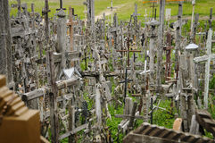 Hill of crosses, Lithuania, Europe Stock Image