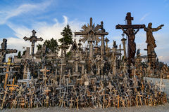 The hill of crosses, lithuania, europe Stock Photos