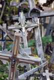 Hill of Crosses in Lithuania Stock Photos