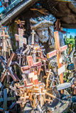 Hill of the Crosses, Lithuania Stock Photography