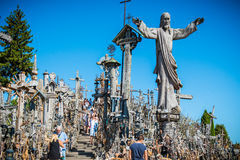 Hill of the Crosses, Lithuania Stock Image