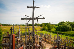 Hill of Crosses, Lithuania Royalty Free Stock Photography