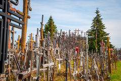 Hill of Crosses, Lithuania Royalty Free Stock Images