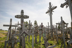 Hill of Crosses, Lithuania Royalty Free Stock Photo