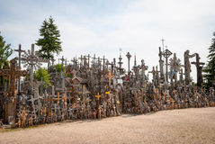 Hill of Crosses, Lithuania Royalty Free Stock Photos