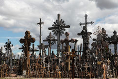 Hill of Crosses in Lithuania. Stock Photography