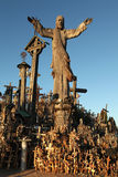 Hill of Crosses in Lithuania. stock image