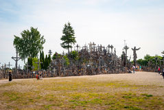 Hill of Crosses, Lithuania Stock Images