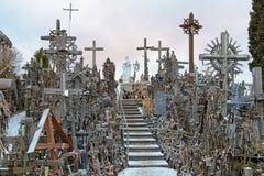 Hill of Crosses near Siauliai Royalty Free Stock Image