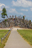 The hill of crosses near Siauliai Stock Photography