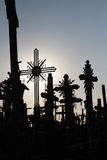 Hill of Crosses Stock Photography