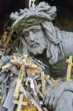 Hill of crosses no.1 Stock Images
